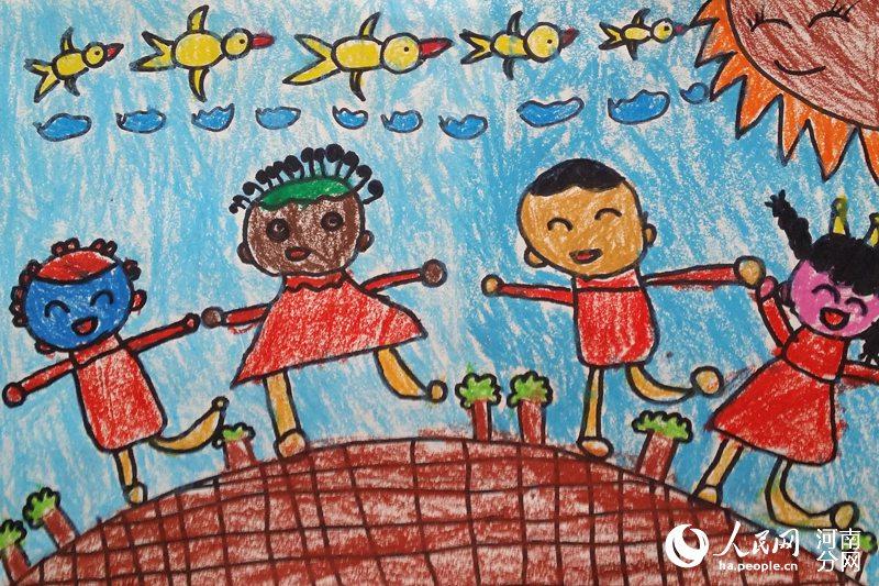 """透过画笔看世界 本网""""爱伴成长""""儿童绘画作品选登【5】"""